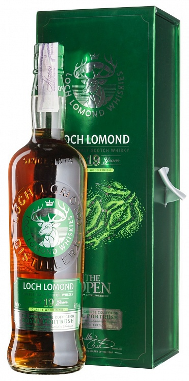 Loch Lomond 19 YO The Open Course Collection Royal Portrush
