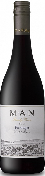 MAN Pinotage Bosstok 2018 Set 6 bottles