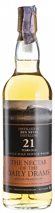Ben Nevis 21 YO 1996/2017 The Nectar of the Daily Drams Daily Dram