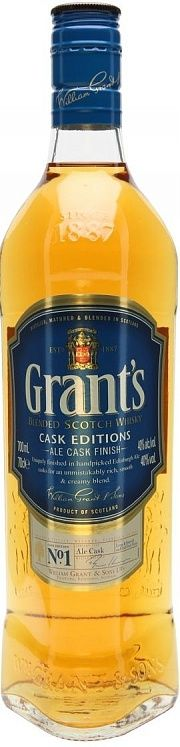 Grant's Cask Editions Ale Cask Finish