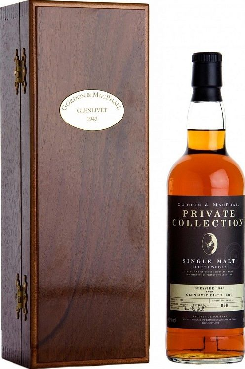 Glenlivet Private Collection 55 YO 1943 Gordon & MacPhail