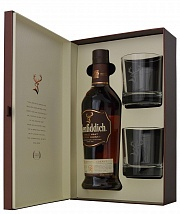Glenfiddich 18 YO 2 Glasses