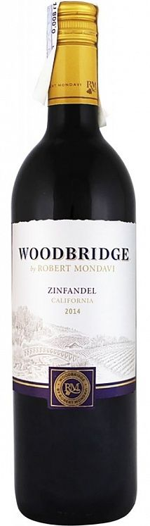 Robert Mondavi Woodbridge Zinfandel Set 6 bottles