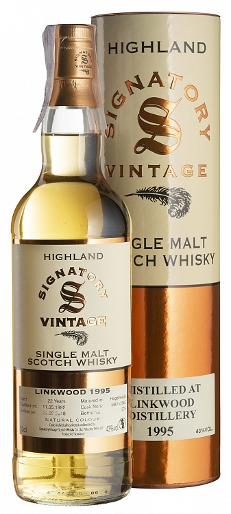 Linkwood 22 YO 1995/2018 Cask Strength Signatory