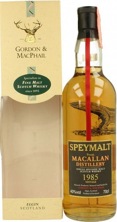 Speymalt from Macallan 1985/2002, Gordon & MacPhail