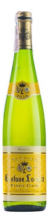 Gustave Lorentz Pinot Gris Reserve 2012
