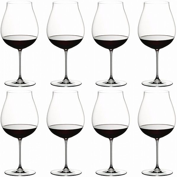 Riedel Veritas NW Pinot Noir/Nebbiolo/Rosé Champ. 790 ml Set of 8