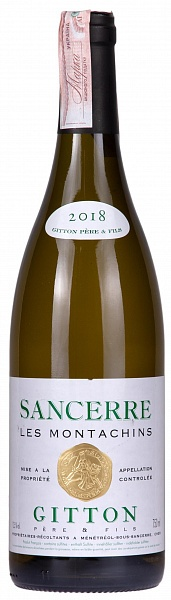 Gitton Sancerre Les Montachins 2018