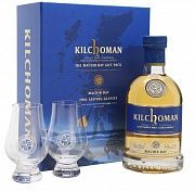 Kilchoman Machir Bay 2 glasses