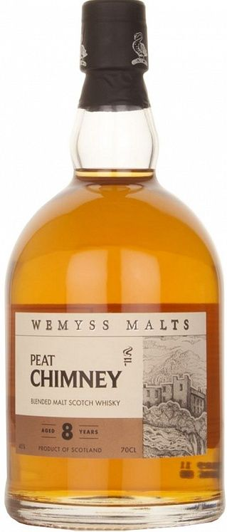 Wemyss Malts Peat Chimney 8 YO