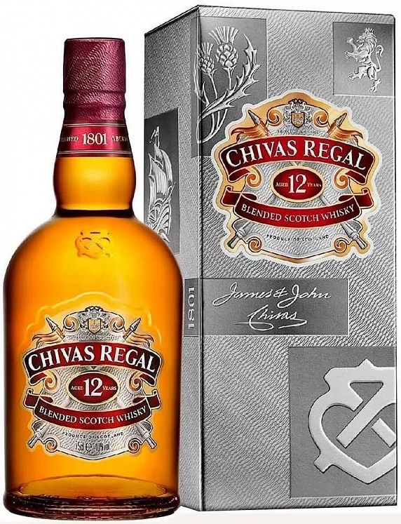 Chivas Regal 12 YO 1L